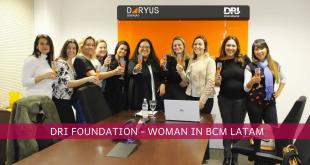 1° Encontro das Mulheres em Continuidade de Negócios na América Latina promovido pelo Disaster Recovery Institute International Foundation