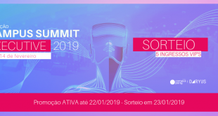 Regulamento do Sorteio de 5 ingressos VIP's para o CAMPUS SUMMIT EXECUTIVE