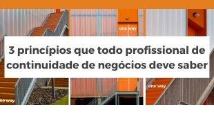 Banner 3 princípios continuidade de negócios