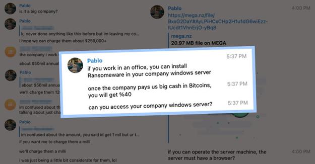 grupos de cibercriminosos responsáveis por ransomware