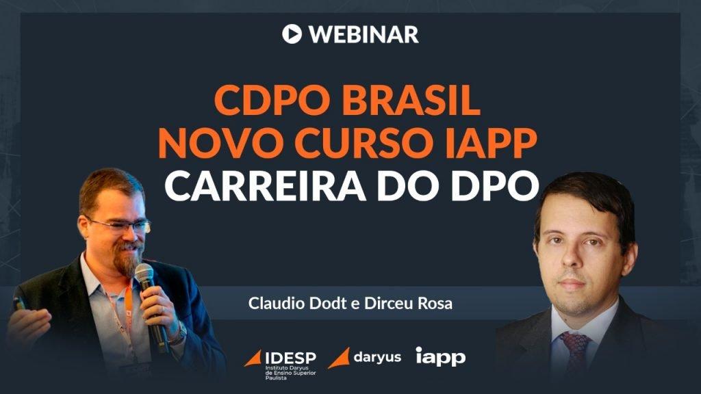 Webinar CDPO Brasil